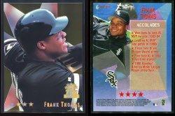 1999  Topps Stars 4 Star Foil Frank Thomas