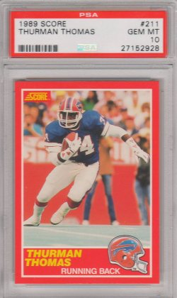 1989 Score  Thurman Thomas