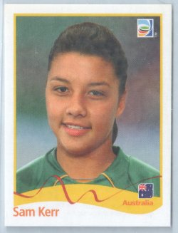 2011 Panini Womens World Cup Stickers Sam Kerr