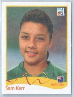 2011 Panini Womens World Cup Stickers Sam Kerr