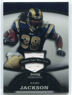 2008 Bowman Sterling Steven Jackson Jersey