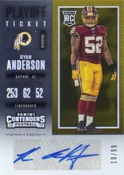 Contenders Playoff Ticket Ryan Anderson