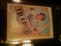 72 Topps Traded Frank robinson