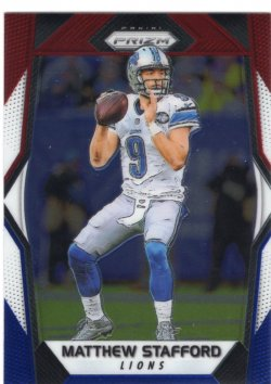 2017 Panini Prizm- Red White & Blue Matthew Stafford