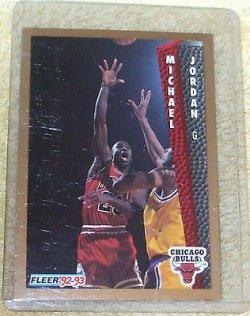 1992 Fleer  Michael Jordan 32