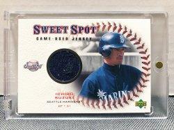 2001 Upper Deck Sweet Spot Ichiro Suzuki w/ Jersey