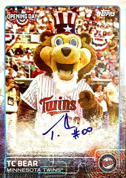 2015 Topps Opening Day TC Bear
