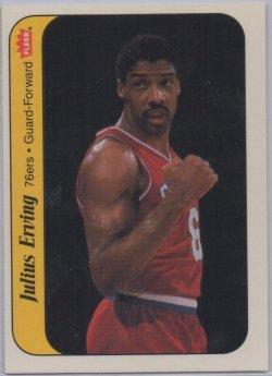 1986-87 Fleer Stickers Julius Erving