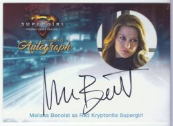 SuperGirl: Season 1 MELISSA BENOIST (RED KRYPTONITE SUPERGIRL)