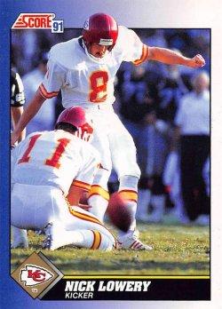 1991  Score Nick Lowery
