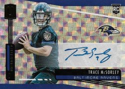Trace McSorley 2019 Panini Unparalleled RC Auto Hyper 16 of 25