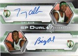 2004-05 Upper Deck SP Authentic Allen, Tony - Signatures Dual