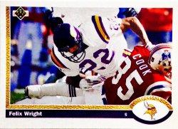 1991 Upper Deck  Felix Wright