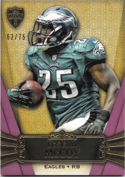 2012 Topps Supreme Purple LeSean McCoy