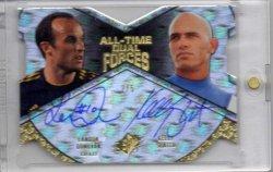 2012 Upper Deck All Time Greats Landon Donovan & Kelly Slater Dual Autograph