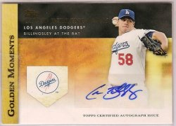 2012 Topps Golden Moments Autographs Chad Billingsley