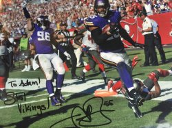 Anthony Barr Personalized 8x10
