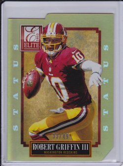 Robert Griffin III 2013 Elite Status Gold /49