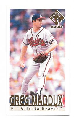 2000  Private Stock PS-2000 Action Greg Maddux