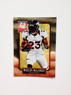 2013 Panini Elite Willis McGahee