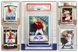 2009  & 2011 Mike Trout Collection