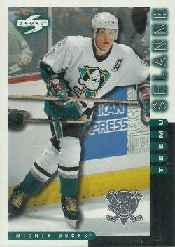 1997/98 Score Anaheim Mighty Ducks Selanne