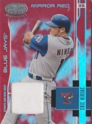2003 Leaf Certified Materials Eric Hinske Mirror Red GUJ
