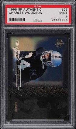 1998  SP Authentic Charles Woodson