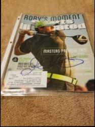 Sports Illustrated Magazine Rory McIlroy