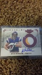 2011 Panini Plates & Patches Kyle Rudolph