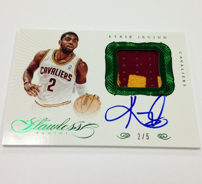 Kyrie Irving Flawless Green RPA 2/5