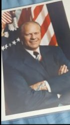 Gerald Ford Certified 8x10 Auto