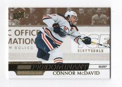 2020-21 Upper Deck Predominant Gold Connor McDavid