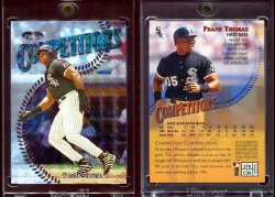 1997  Finest Silver Embossed Refractors Frank Thomas