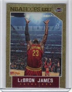 2015-16 Panini NBA Hoops Lebron James