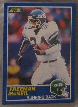 1989 Score  #24 - Freeman McNeil