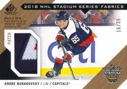 2018-19 Upper Deck SP Game Used 2018 Stadium Series Fabrics Patch Andre Burakovsky