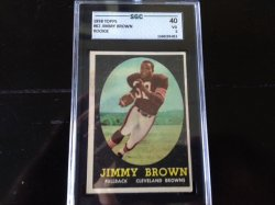 1958 Topps  Jim Brown Rookie