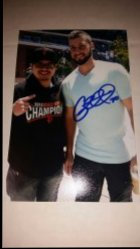 George Kontos 4x6 Personal Photo IP Autograph