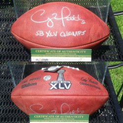 Wilson Duke SB XLV Ball Clay Matthews