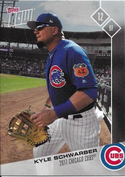 2017 Cubs Topps Now Road To Opening Day Schwarber