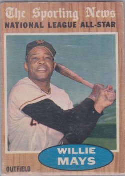 1962 Topps  Willie Mays AS