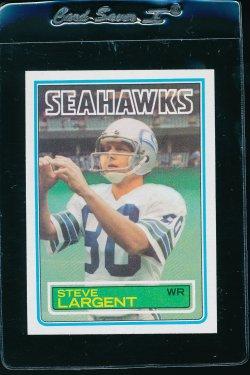 1983 Topps  Steve Largent