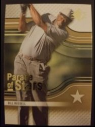 2012 Upper Deck SP Authentic Parade of Stars  Bill Russell