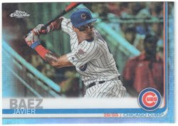 2019 Topps Chrome Photo Variation Refractor Javier Baez