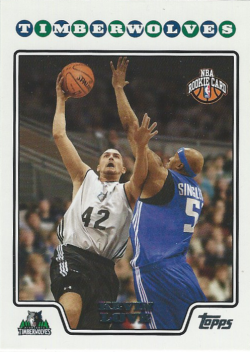 2008-09 Topps  Kevin Love