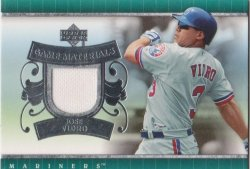 2007 Upper Deck Series 2 Jose Vidro GUJ