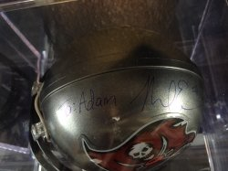 Mike Evans Personalized Mini Helmet