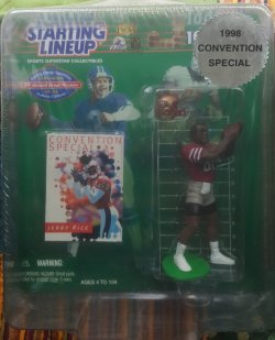 1998  Starting Lineup Jerry Rice Convention Special