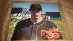 2016   Derek Law 8x10 Photo IP Autograph